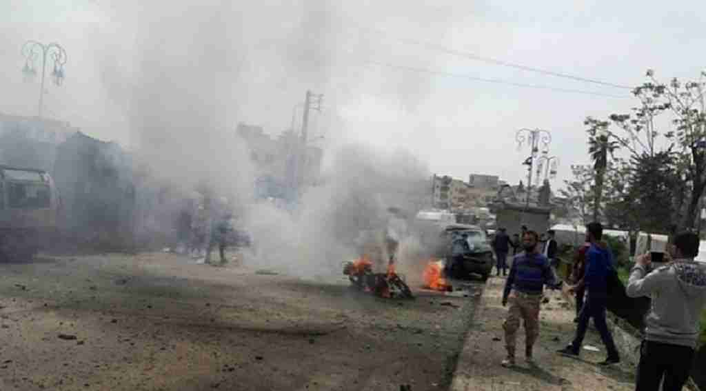 Azez'de bombalı araçla saldırı