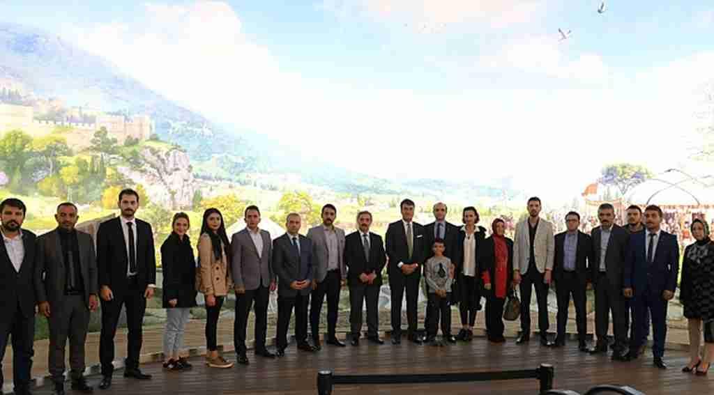 MHP il teşkilatından Panorama 1326'ya ziyaret - Bursa Haberleri