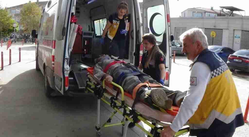 Okul inşaatından düşen usta yaralandı - Bursa Haberleri