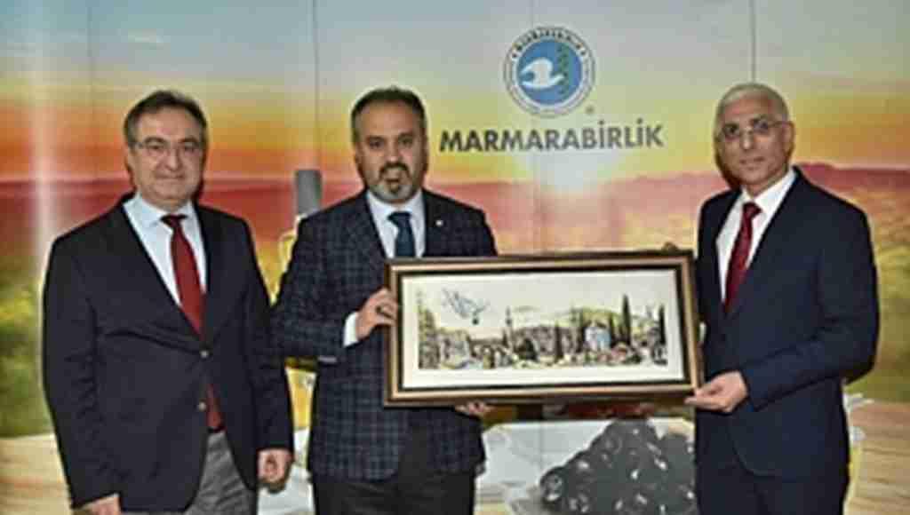 """Aktaş: """"Marmarabirlik'e hepimiz sahip çıkmalıyız"""" - Bursa Haberleri"""