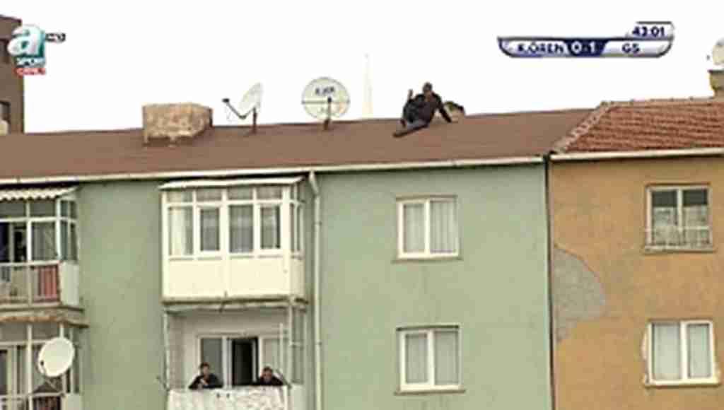 Bu görüntü Galatasaray maçının önüne geçti