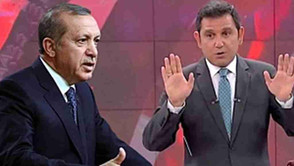 Cumhurbaşkanı Erdoğan'dan FOX TV Ana Haber Bülteni sunucusu Fatih Portakal'a ağır sözler