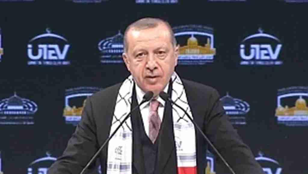 Erdoğan'dan, Kudüs Konferansı'nda önemli açıklamalar