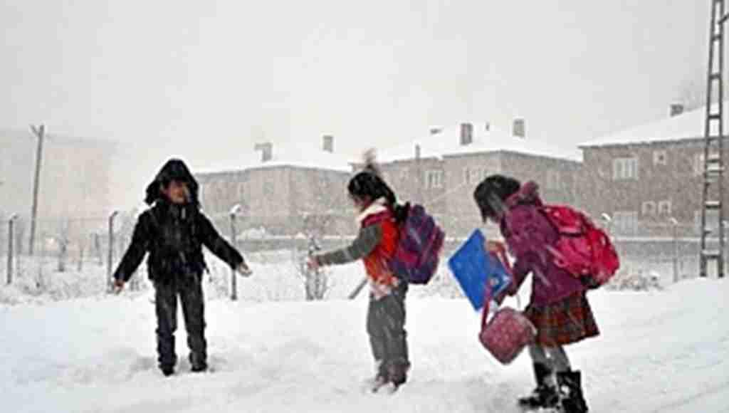 Hakkari'de okullar tatil edildi