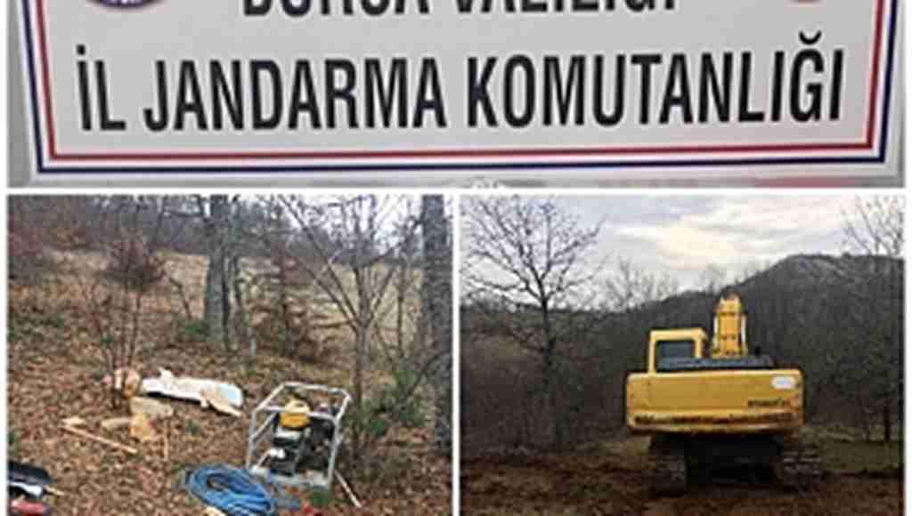 Jandarmadan kaçak kazı operasyonu: 11 gözaltı - Bursa Haberleri