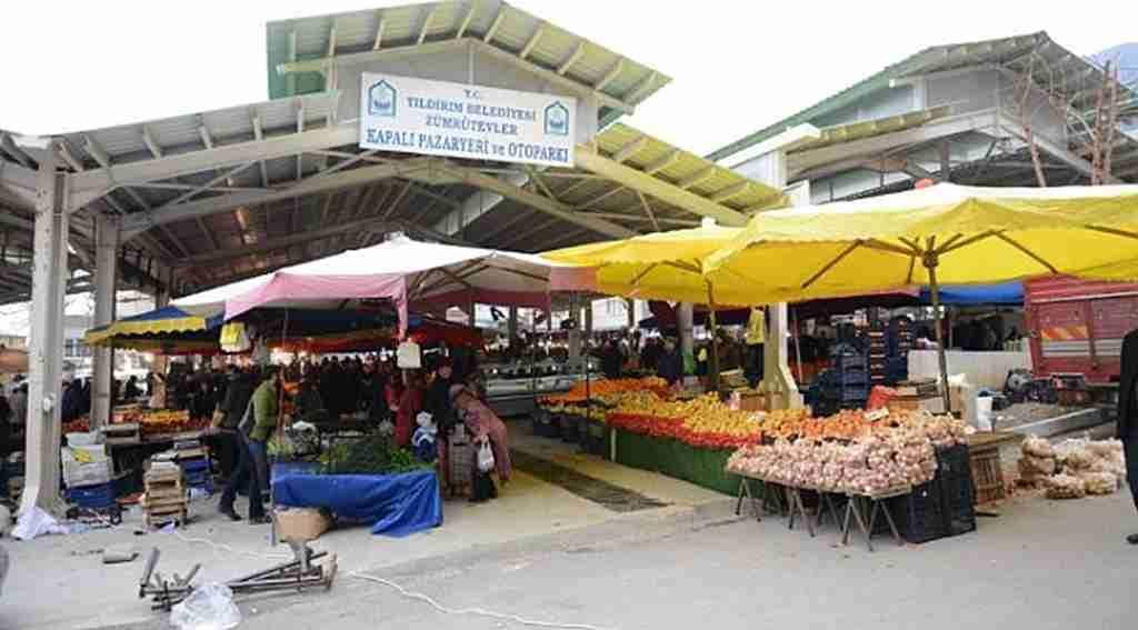 Kapalı pazar yerleri Yıldırım'a değer katıyor - Bursa Haberleri