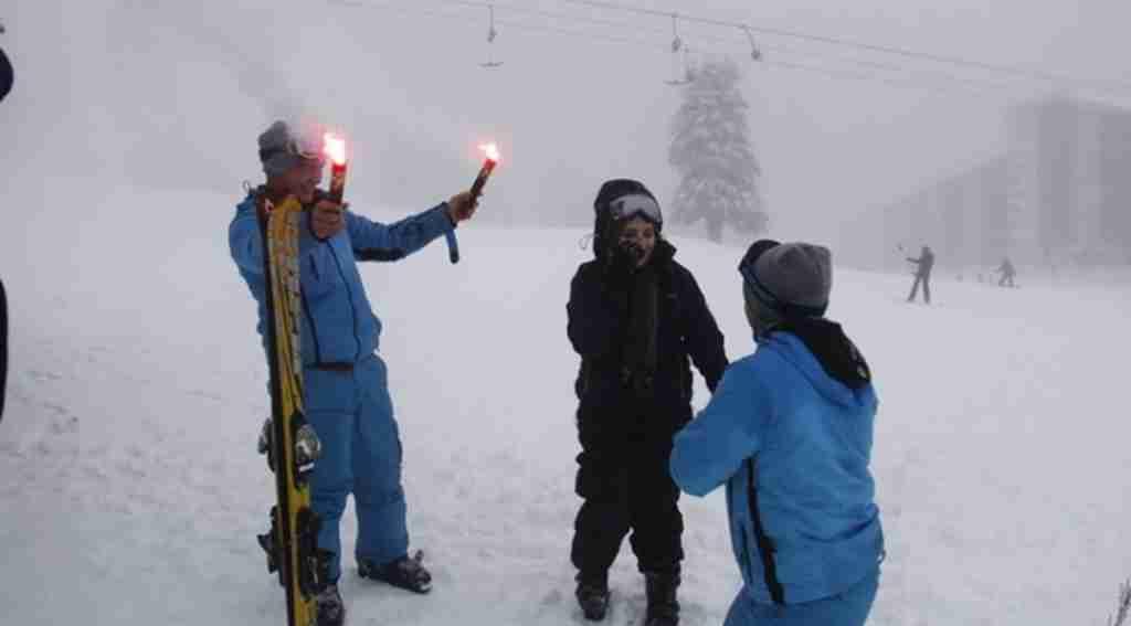 Kayak pistinde inanılmaz evlilik teklifi - Bursa Haberleri