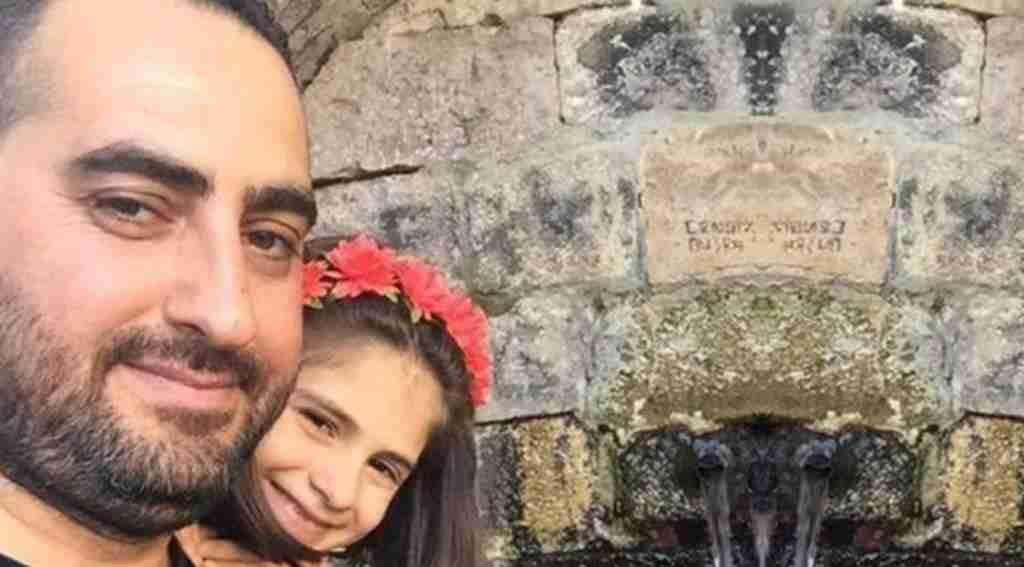 Takla atan otomobildeki baba öldü, eşi ve kızı yaralandı