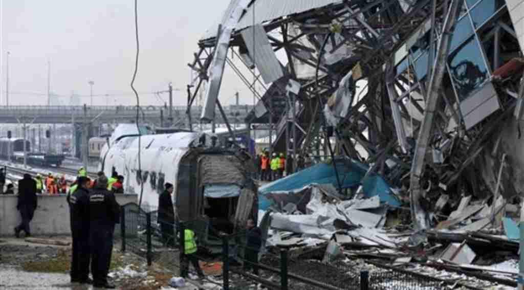 Tren kazasında telsizler incelemeye gönderildi