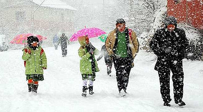 11 Ocak 2019 Kar Tatili Olan İller? - 11 Ocak Cuma Bugün Okullar Tatil mi? 11 Ocak Cuma Okullar Tatil mi? Bugün Okulları Tatil Olan İller...