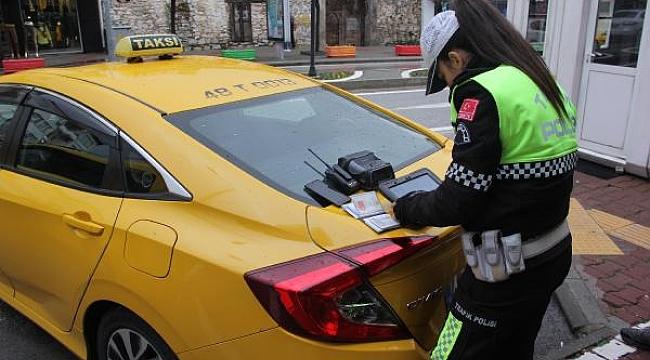 15 ildeki denetimde taksicilere ceza yağdı!