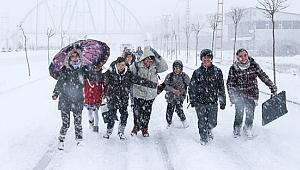 Kar Tatili 16 Ocak 2019 Çarşamba bugün kar tatili olan iller? 16 Ocak Çarşamba bugün okullar tatil mi? 16 Ocak Çarşamba hangi illerde okullar tatil?