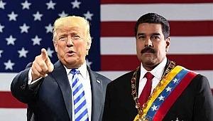 ABD Başkanı Trump'dan şok çıkış; Venezuela'da muhalefet lideri Guaido'yu 'geçici devlet başkanı' olarak tanıdı