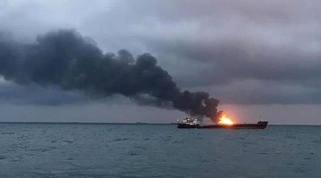 Acı haberi Bakanlık duyurdu, Yanan gemide 4 Türk vatandaşı hayatını kaybetti