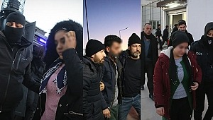 Adana merkezli terör operasyon, Gözaltına alındılar