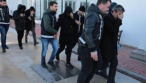 Adana şok baskın! 55 kişi gözaltında