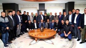 Ağrılı sanayicilerden Bozbey'e ziyaret - Bursa Haberleri