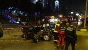 Bartın'da trafik kazası! Arıza yapan aracı iterken canından oldu