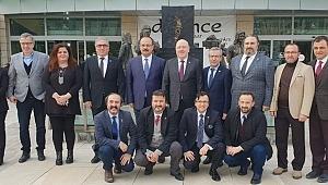 Bursa Valisi Canbolat BGC'ye konuk oldu - Bursa Haber