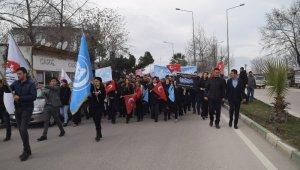 Bursa'da Doğu Türkistan'daki Çin zulmü protesto edildi - Bursa Haber