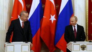 Cumhurbaşkanı Erdoğan ve Rusya Lideri Putin Görüşme Sonrası Ortak Basın Toplantısı
