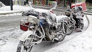 Doğu buz kesti... O şehirde eksi 32,5 dereceyi görüldü