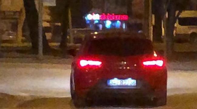 Drift yapan sürücüye 5 bin 480 lira ceza - Bursa Haber
