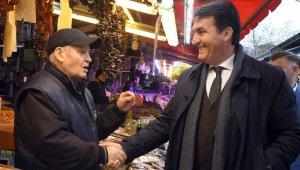 Dündar'dan çarşı esnafına ziyaret - Bursa Haberleri