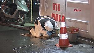 Ekipler onu arıyor... Patlama izlerini fark etti polise haber verdi