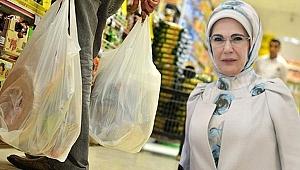 Emine Erdoğan, Paralı poşet uygulamasını değerlendirdi