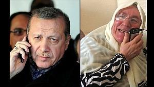 Erdoğan 'CHP ile iş olmaz' diyen Mehruze teyzeyle konuştu