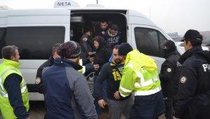 Fenerbahçe taraftarı Bursa girişinde didik didik arandı - Bursa Haber