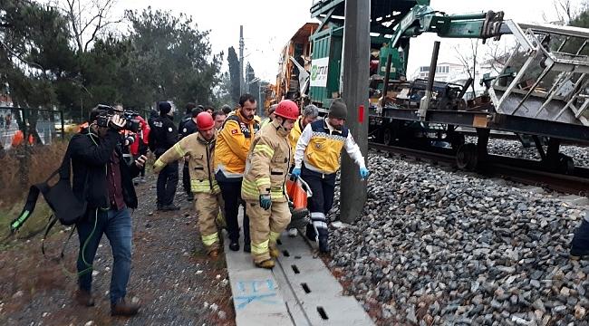 İstanbul'da tren kazası