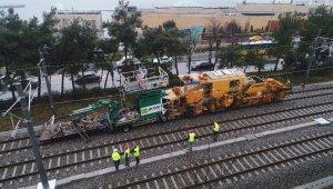 İstanbul'daki tren kazası havadan görüntülendi