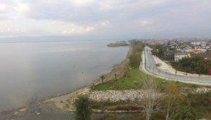 İznik sahili, botanik bahçesine dönüşüyor - Bursa Haber