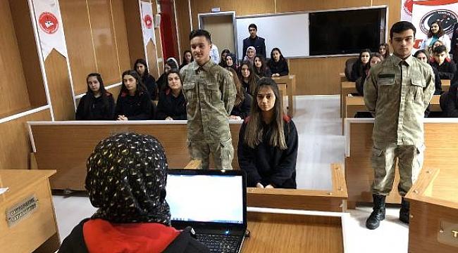 Lisede mahkeme kuruldu, suçlular cezaevine konuldu - Bursa Haber