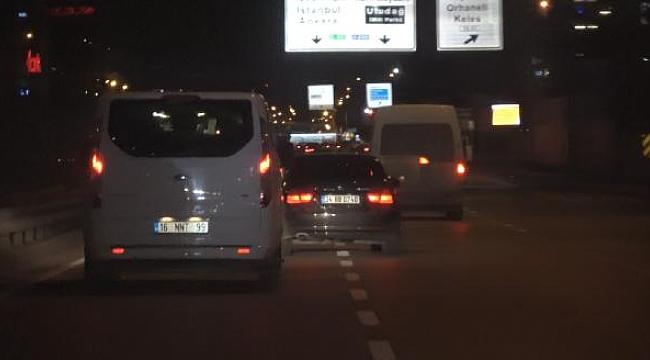 Magandaların trafiği birbirine kattı - Bursa Haber