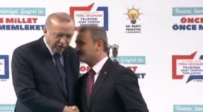 MHP'li aday, Erdoğan'dan izin istedi ve o hareketi yaptı