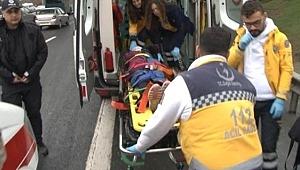 MHP Lideri Devlet Bahçeli'nin Konvoyunda Kaza: 2 Kişi Yaralandı