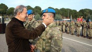 Milli Savunma Bakanı Hulisi Akar'dan Münbiç açıklaması!