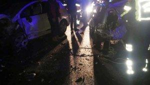 Muğla'da 3 aracın birbirine girdiği zincirleme trafik kazasında 5 yaralı