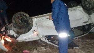 Nevşehir'de trafik kazası! Otomobil uçuruma yuvarlandı: 1 ölü, 5 kadın yaralandı!