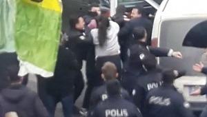 Ortalık karıştı, polis biber gazıyla müdahale etti