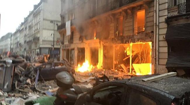 Paris'te patlama... 15 yaralı var...