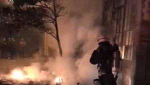 Plastik kasa deposunda çıkan yangın korkuttu - Bursa haber