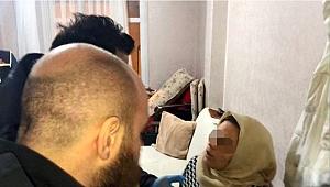 Polis, baskın yaptığı evde küçük çocuğa yaptırılanı görünce isyan etti