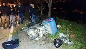 Samsun'da acı olay! Motosikletli kurye son siparişinden dönerken kazada öldü