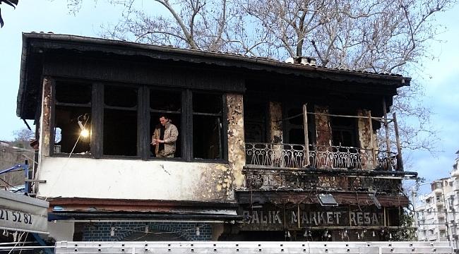Tarihi yangının boyutu, gün ağarınca ortaya çıktı - Bursa Haber