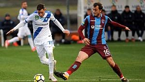 Trabzonspor, MTK Budapeşte'ye 2-0 yenildi