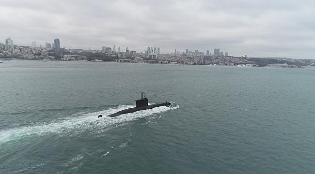 Türk Donanmasının gururu böyle görüntüledi